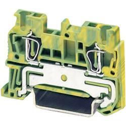 Stezaljka sa zaštitnim vodičem i zateznom oprugom ST...-PE ST 2,5-PE Phoenix Contact zeleno-žute boje, sadržaj: 1 kom.