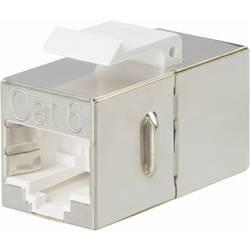 Sensor- /aktor-stikforbinder til indbygning Adapter, indbygning Pol-tal (RJ): 8 Phoenix Contact 1653155 VS-08-BU-RJ45-6-MOD/BU 1