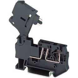 Sigurnosna stezaljka sa zateznom oprugom ST 4-HESILA 250 (5X20) Phoenix Contact crne boje, sadržaj: 1 kom.