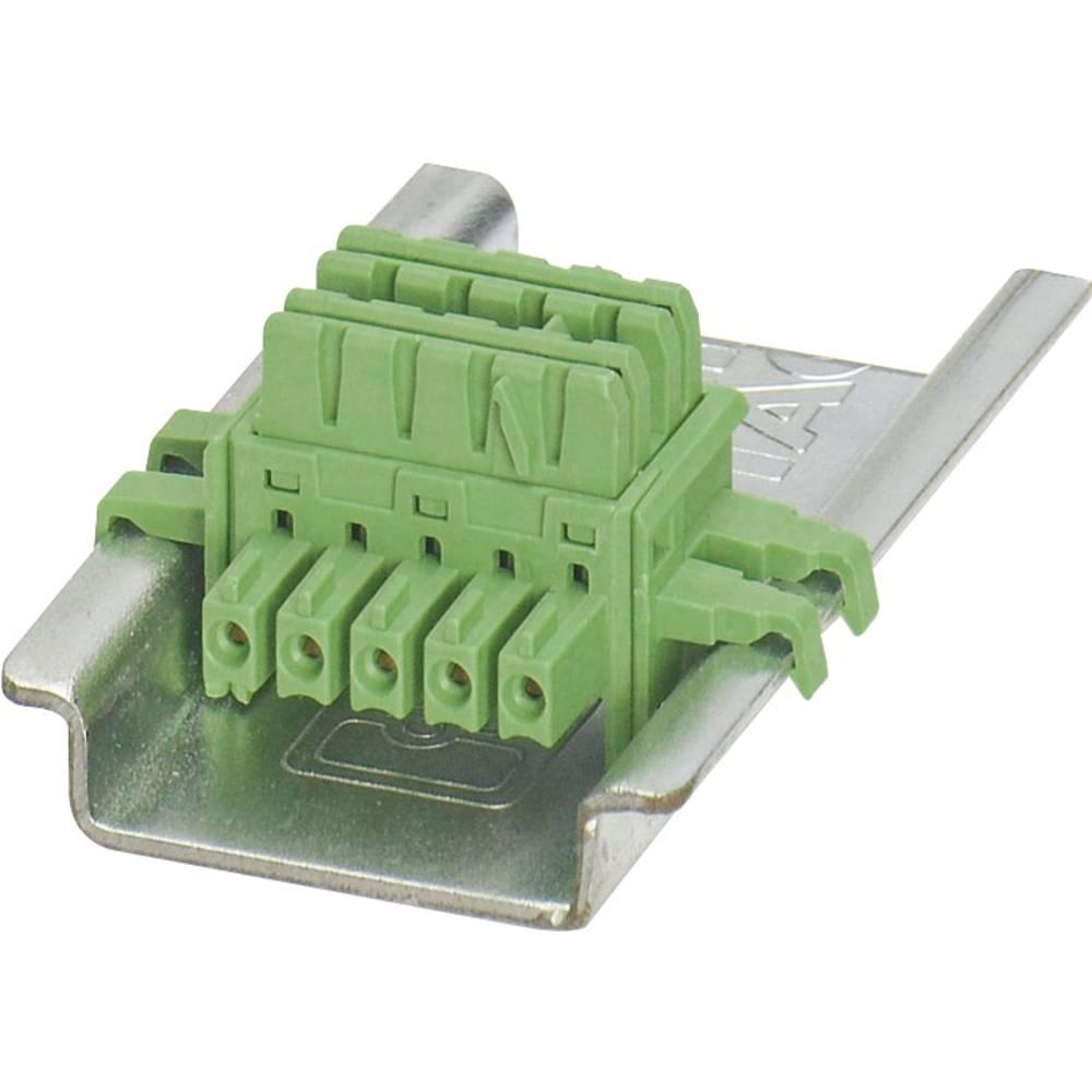 Stezaljka za profilne šine Phoenix Contact ME 6.2 TBUS-2 1.5/5-ST-3.81 GN 2869728 1 kom.
