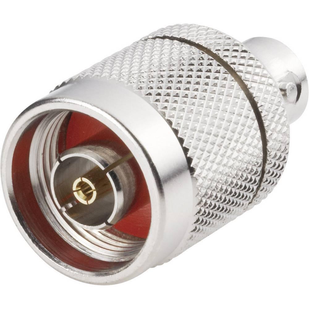 N-adapter N-reverse-stik - BNC-tilslutning BKL Electronic 419630 1 stk