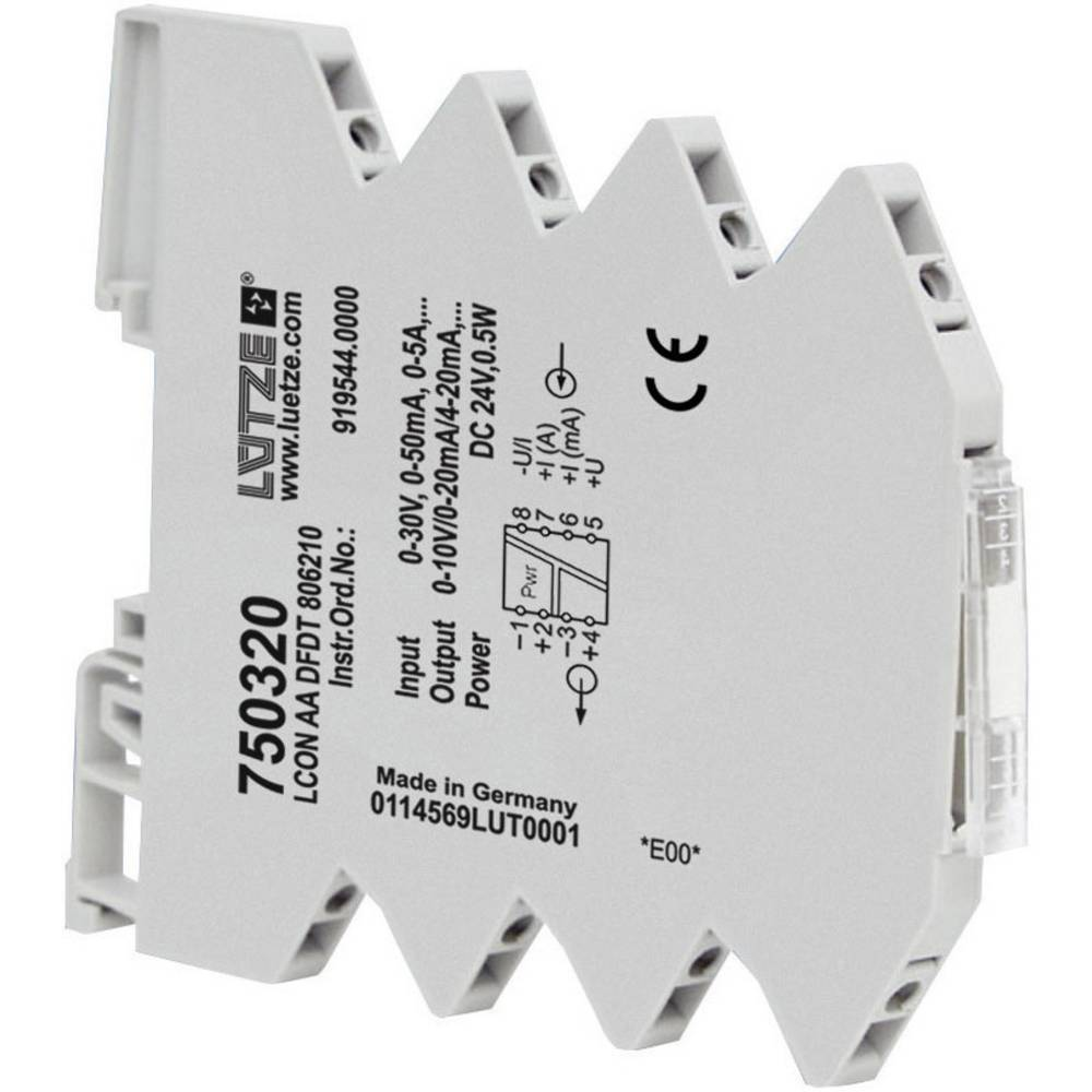 Analogni/analogni pretvornik Lütze LCON AA DFDT 806210, št.ütze LCON AA DFDT 806210, št. 750320