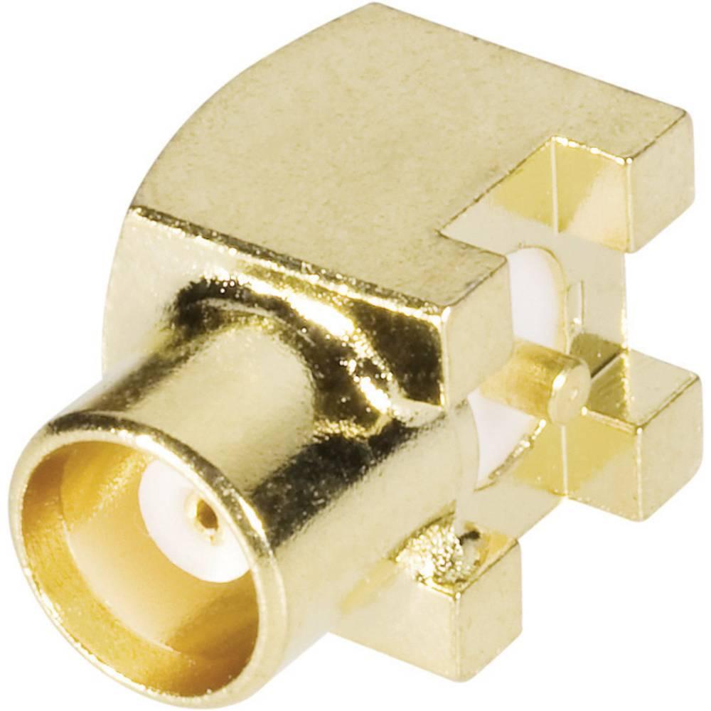 MCX-stikforbindelse BKL Electronic 0416306 50 Ohm Tilslutning, indbygning vandret 1 stk