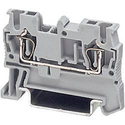Provodna stezaljka sa zateznom oprugom ST ST 1,5 Phoenix Contact sive boje, sadržaj: 1 kom.