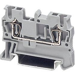Provodna stezaljka sa zateznom oprugom ST ST 2,5 Phoenix Contact sive boje, sadržaj: 1 kom.