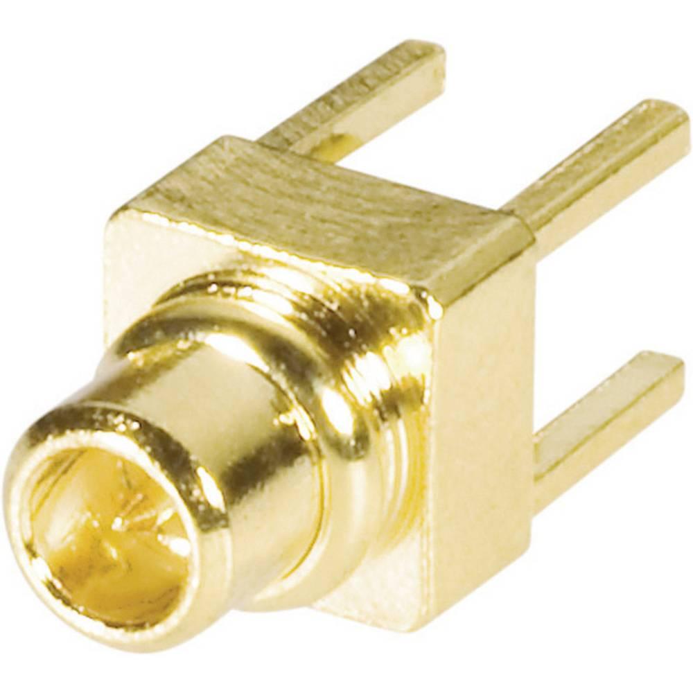MMCX-stikforbindelse BKL Electronic 0416704 50 Ohm Stik, indbygning lodret 1 stk
