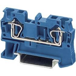 Provodna stezaljka sa zateznom oprugom ST ST 4 BU Phoenix Contact plave boje, sadržaj: 1 kom.