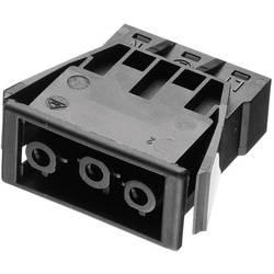Strømstik Serie (netstik) AC Tilslutning, indbygning lodret Samlet poltal: 2 + PE 16 A Sort Adels-Contact AC 166 GEBU/ 3 1 stk