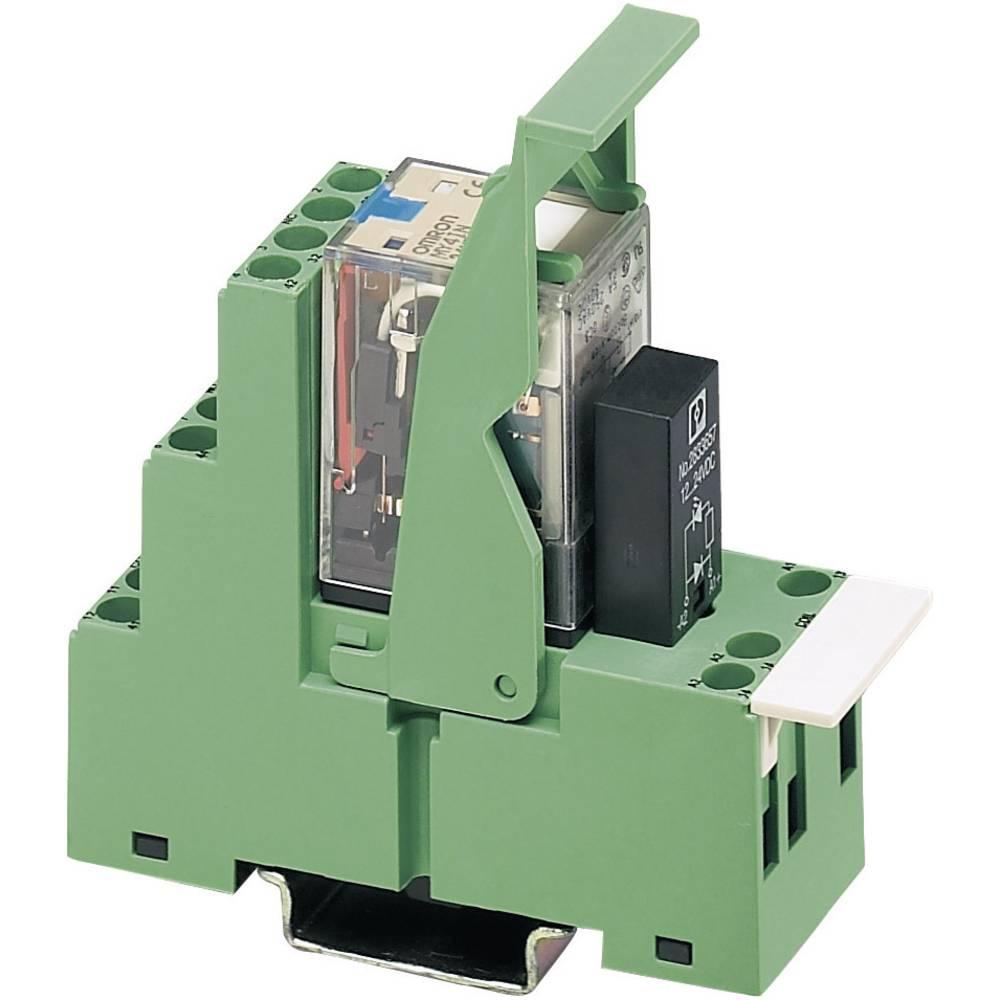 Relækomponent 1 stk Phoenix Contact PR2-RSC3-LV- 24AC/4X21AU Nominel spænding: 24 V/AC Brydestrøm (max.): 5 A 4 x omskifter