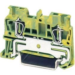 Stezaljka sa zaštitnim vodičem i zateznom oprugom ST...-PE ST 1,5-PE Phoenix Contact zeleno-žute boje, sadržaj: 1 kom.