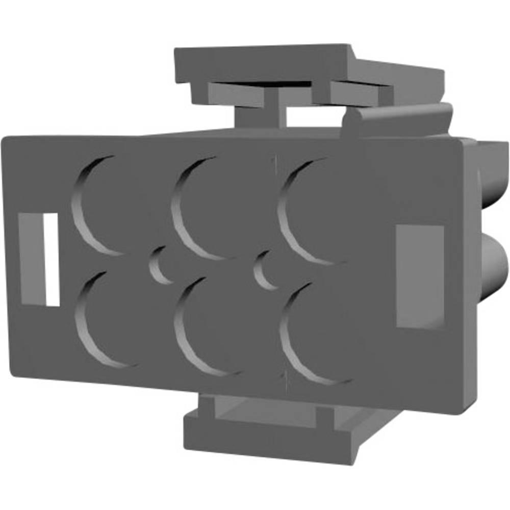 Stiftkabinet-kabel Universal-MATE-N-LOK Samlet antal poler 6 TE Connectivity 1-480704-0 Rastermål: 6.35 mm 1 stk