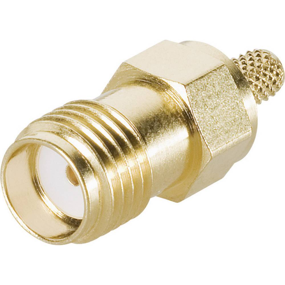SMA ženski konektor za kabel Telegärtner J01151A0611, 50 ohmov, raven, za stiskanje
