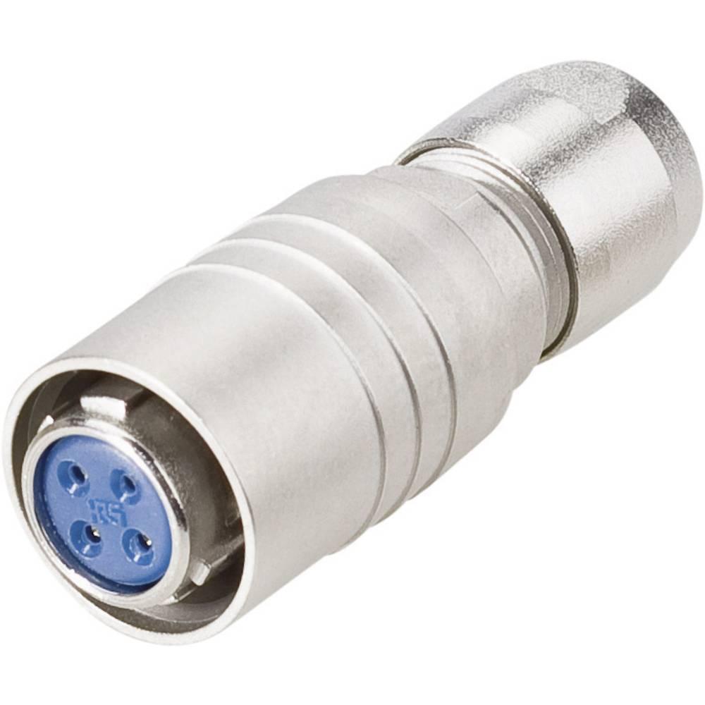Moški konektor za kabel Hirose Electronic HR10-10P-12S(73),nazivni tok: 2 A, poli: 12