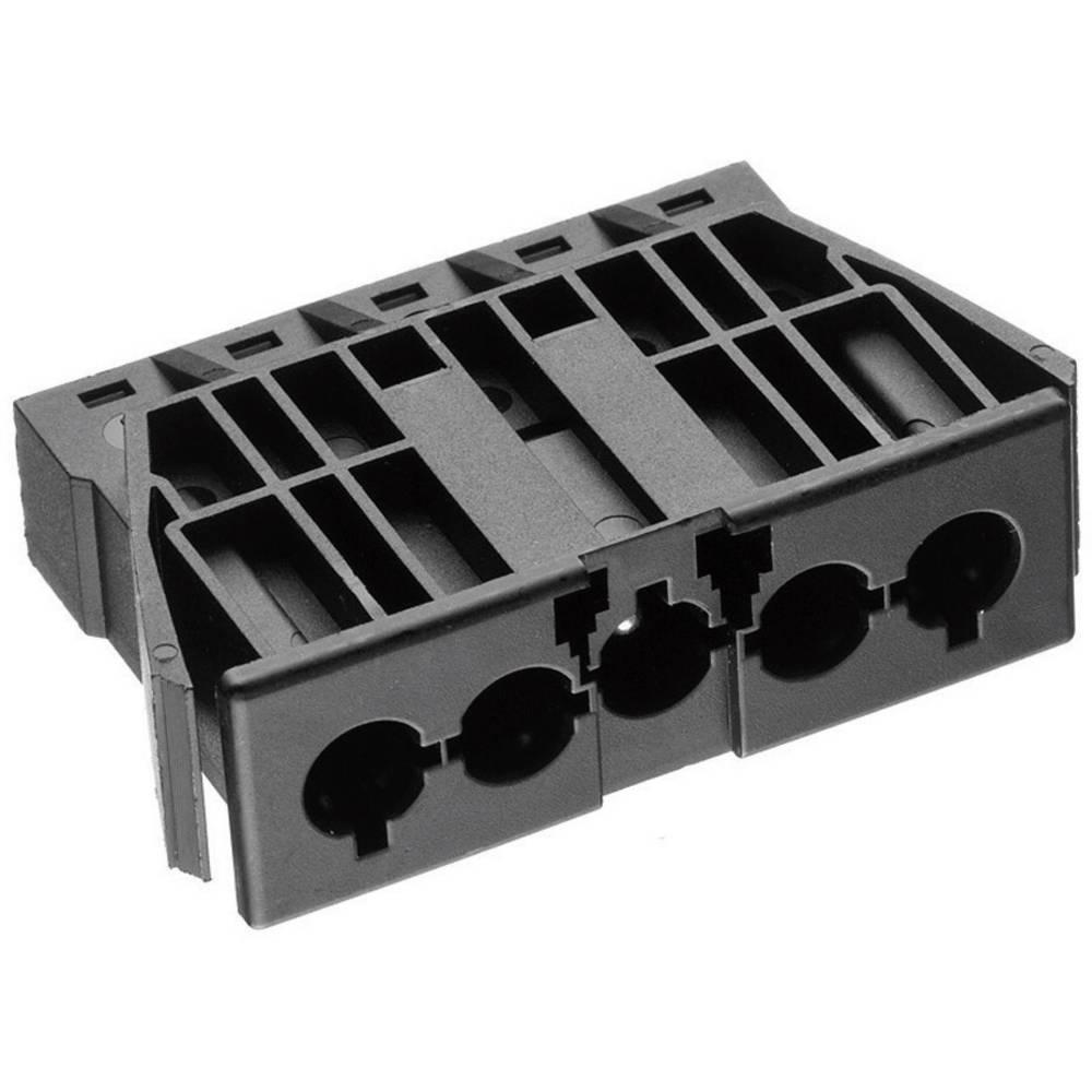 Mrežni konektor AC 166 GEBU/ 5 Adels-Contact okomita ugradnja broj polova: 5 16 A crna 1 komad