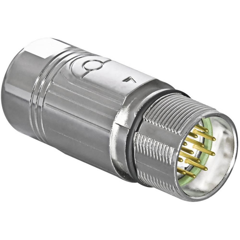 Industrijski signalni konektorIntercontec serije 623, AKUA012MR04410200C00, M23, 7 A