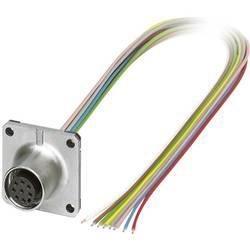 Sensor- /aktor-stikforbinder til indbygning M12 Tilslutning, indbygning 0.50 m Pol-tal (RJ): 8 Phoenix Contact 1441574 SACC-SQ-M
