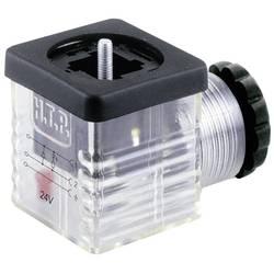 Ventil plug med diode HTP G1TU2DL1 Sort, Transparent 1 stk