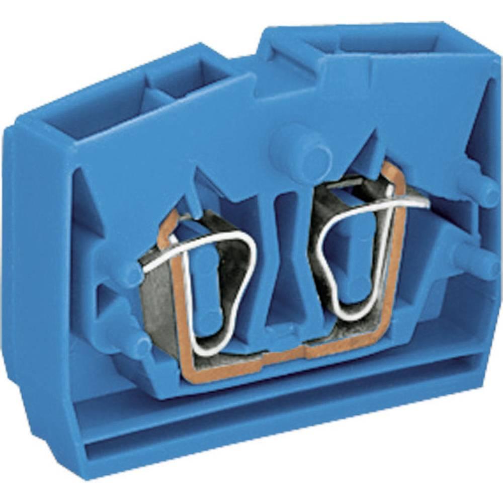 WAGO 264-324 Stackable Centre Terminal Blocks Series 264 0.08 - 2.5 mm² Blue