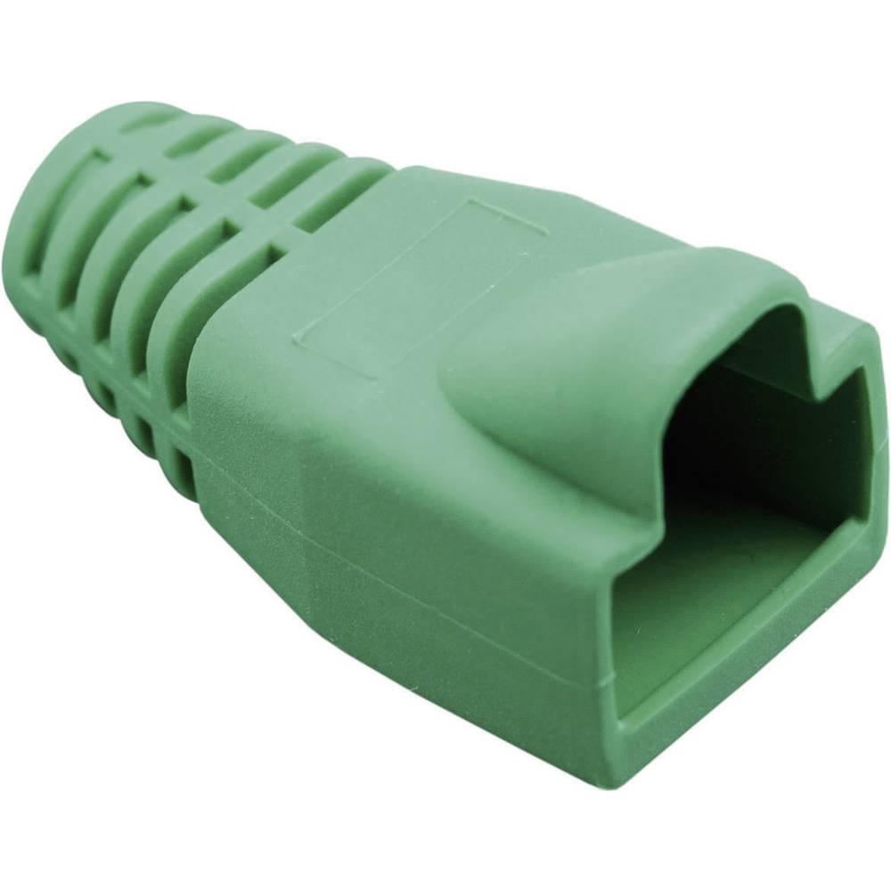 Ustnik za zaščito pred ukrivljanjem z zapahno ročico 450-014 zelene barve BEL Stewart Connectors 450-014 1 kos