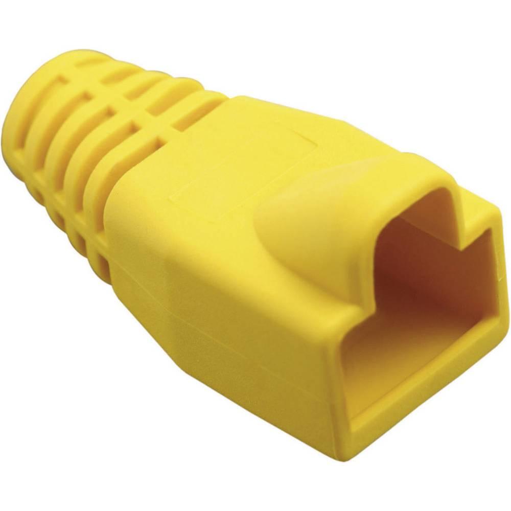 Ustnik za zaščito pred ukrivljanjem z zapahno ročico 450-013 rumene barve BEL Stewart Connectors 450-013 1 kos