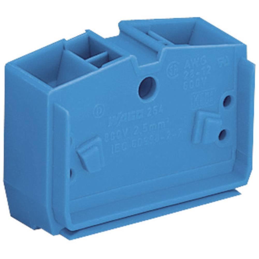 WAGO 264-354 Stackable Centre Terminal Blocks Series 264 0.08 - 2.5 mm² Blue