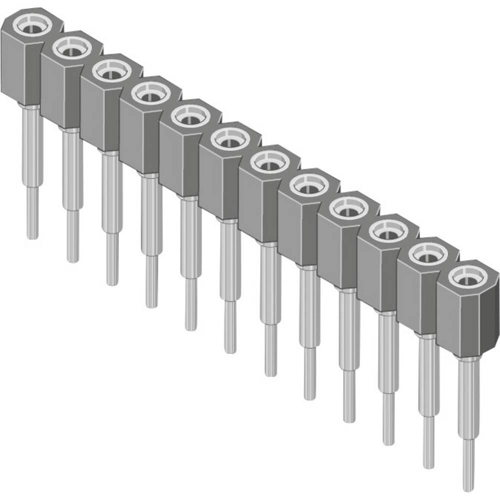 Bøsningsliste (præcision) MPE Garry 006-1-010-D-B1STF-XS0 1000 stk