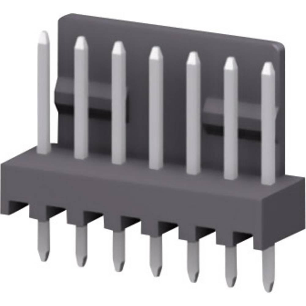 Stiftliste (præcision) STL Samlet antal poler 8 MPE Garry 428-1-008-0-T-KS0 Rastermål: 2.54 mm 1000 stk