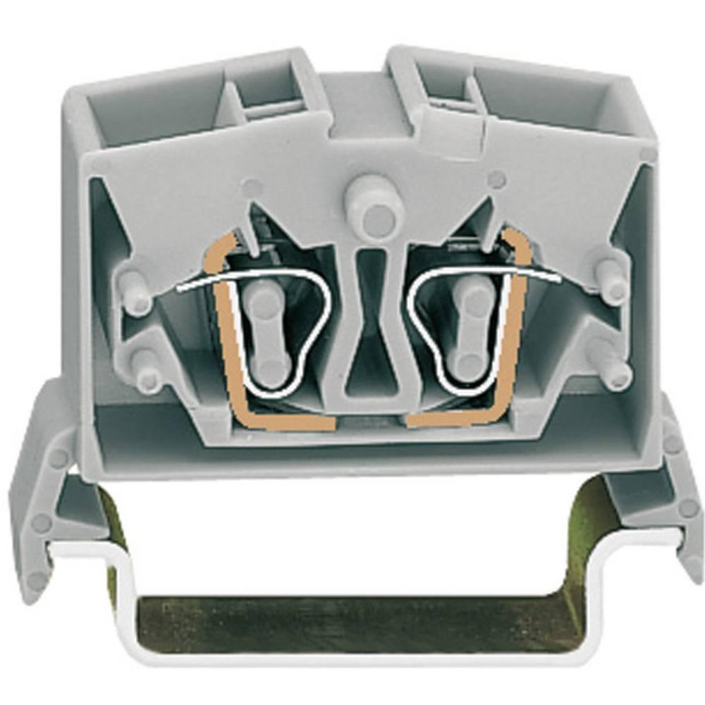 WAGO 264-731 Mini Through/earth Conductor Terminals Series 264 0.08 - 2.5 mm² Grey
