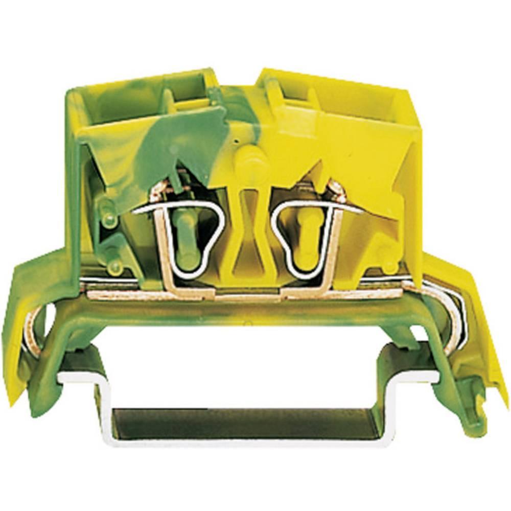 Jordklemme 10 mm Trækfjeder Belægning: Terre Grøn-gul WAGO 264-737 1 stk