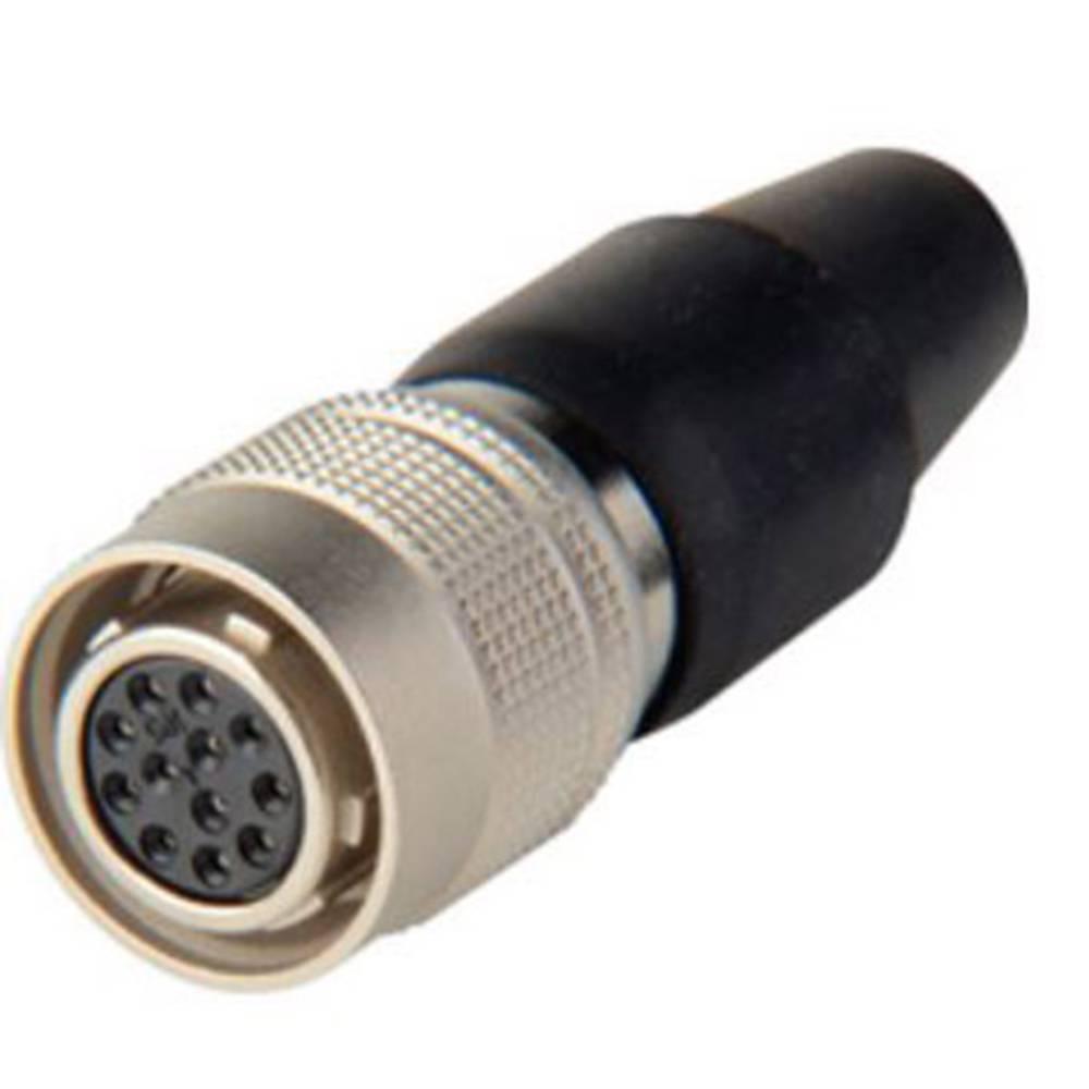 Moški konektor za kabel Hirose Electronic HR10A-10P-12S(73), nazivni tok: 2 A, poli: 12