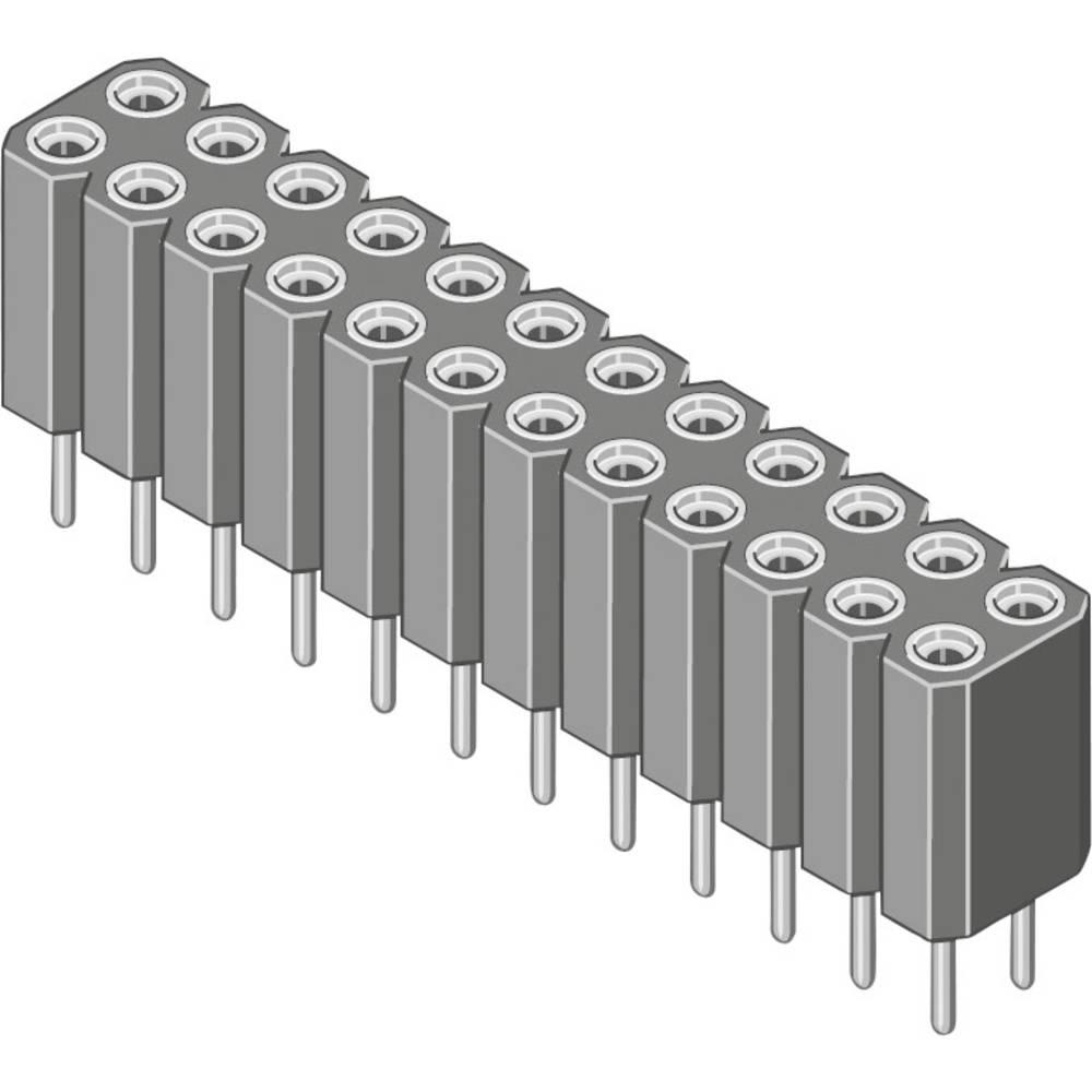 Bøsningsliste (præcision) MPE Garry 115-3-036-0-MTF-XS0 100 stk