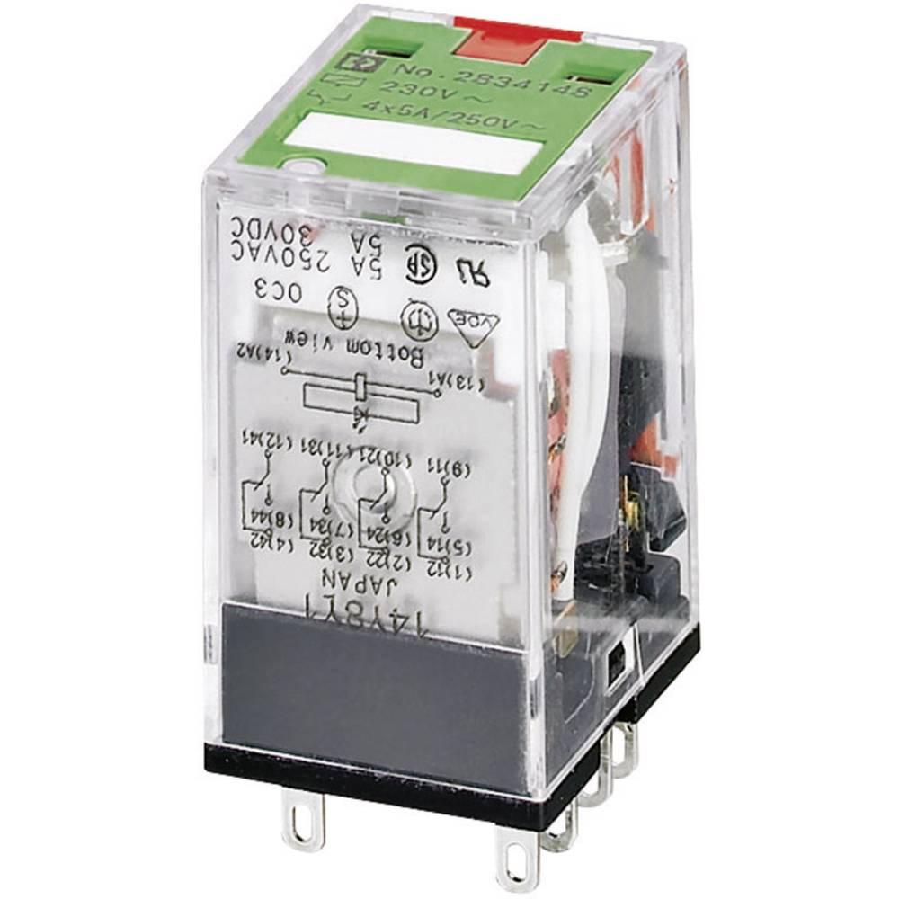 Utični relej 230 V/AC 5 A 4 preklopni Phoenix Contact REL-IR/L-230AC/4X21 AU 1 kom.