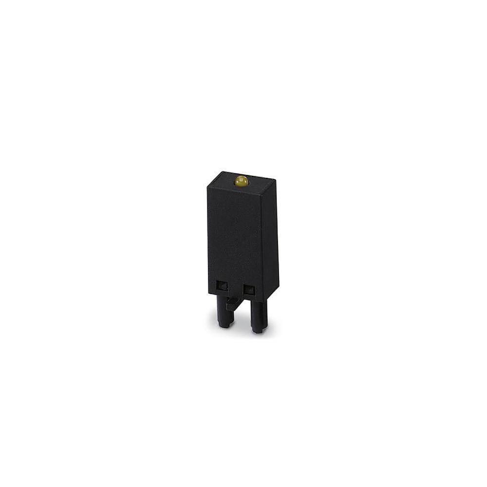 Steckmodul (value.1292944) med LED, Med friløbsdiode 1 stk Phoenix Contact LDP- 12- 24DC Lysfarve: Gul Passer til serie: Siemens
