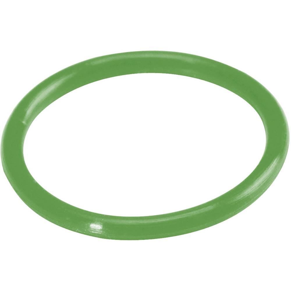 Silikonski barvni obroč HiconHI-UC-GN, raztegljiv, vsebina:1kos