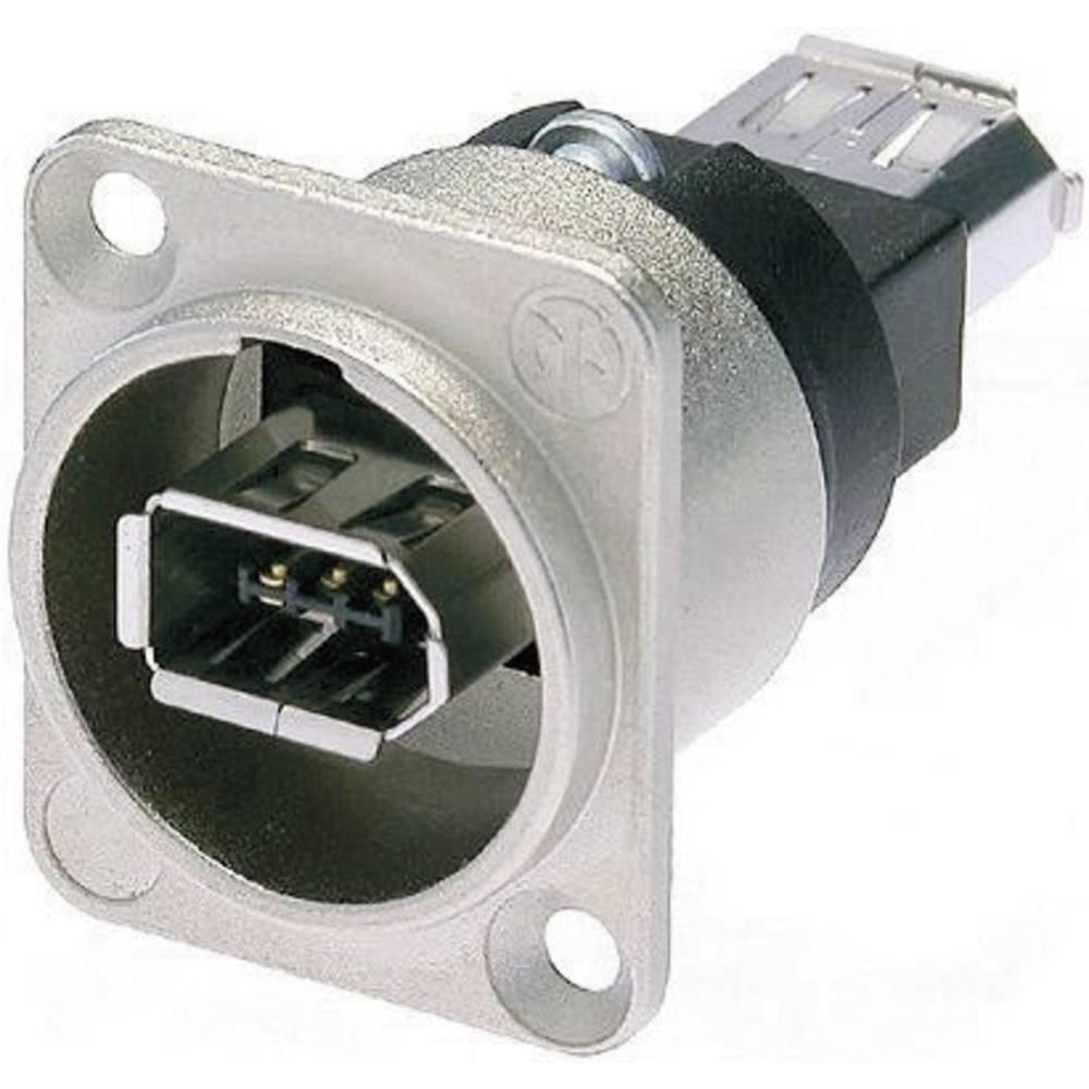 FIREWIRE 6 Z IEEE1394 6 polna, z vtičem NIKELJ Neutrik NA1394-6-W