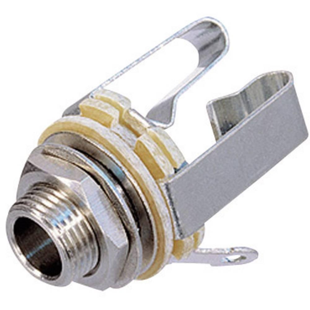 Vgradni ženski konektor za banana vtič, 6,35 mm vgradni ženski konektor število polov: 3 N NYS 230 Rean AV