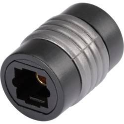 Toslink Digital Audio Adapter [1x Toslink hona (ODT) - 1x Toslink hona (ODT)] 0 m Svart Hicon