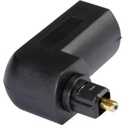 Toslink Digital Audio Adapter [1x Toslink hane (ODT) - 1x Toslink hona (ODT)] 0 m Svart Hicon