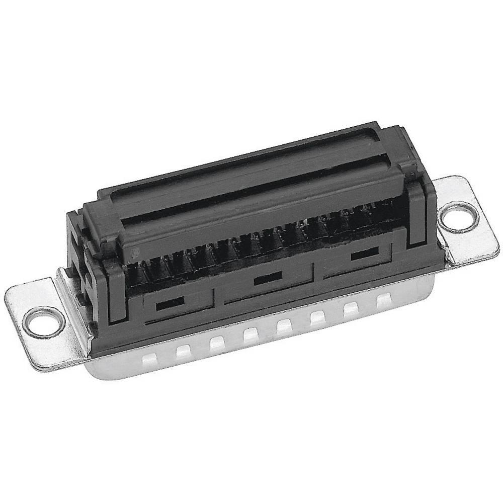 D-SUB za ploščati kabel, št. polov: 25, raven vtič, spajkalni priklop, IDT25154G3, Provert Provertha