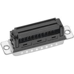 D-SUB za ploščati kabel, št. polov: 15, ravna vtičnica, spajkalni priklop, IT15164G3, Prov Provertha
