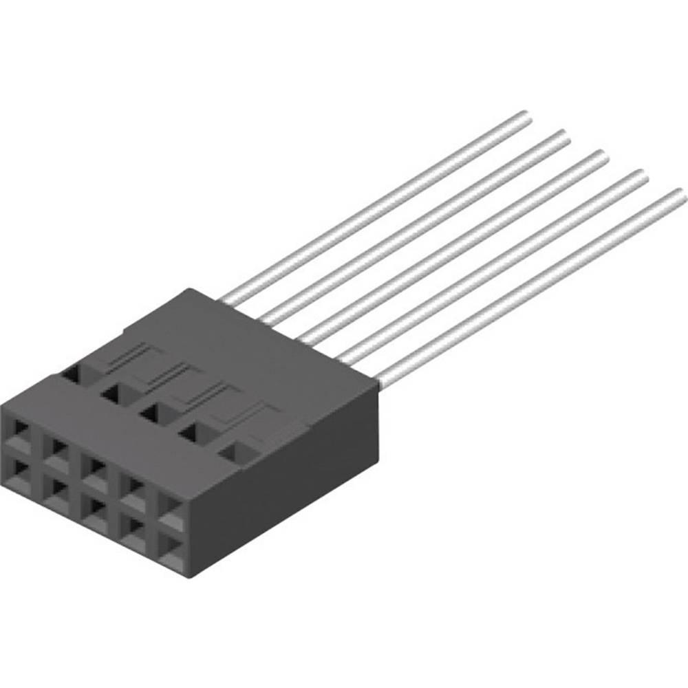 Tilslutningskabinet-kabel BLC Samlet antal poler 12 MPE Garry 430-2-012-X-KS0 Rastermål: 2.54 mm 1000 stk