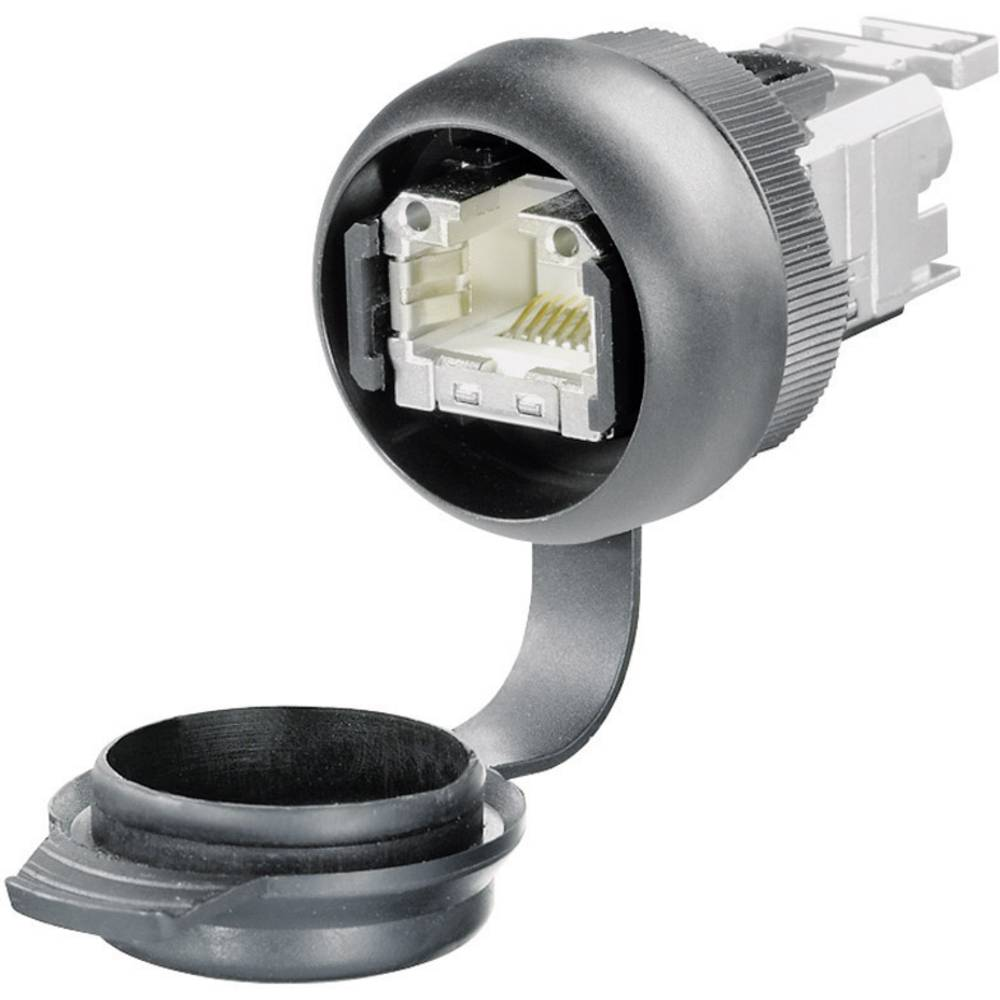 Sensor- /aktor-stikforbinder til indbygning Tilslutning, indbygning Pol-tal (RJ): 8P8C Weidmüller 1018810000 IE-FCM-RJ45-FJ-A 1