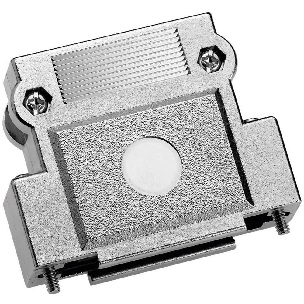 D-SUB Metaliziran plastični pokrov z oprijemom, št. polov: 25 37250M001 Provertha