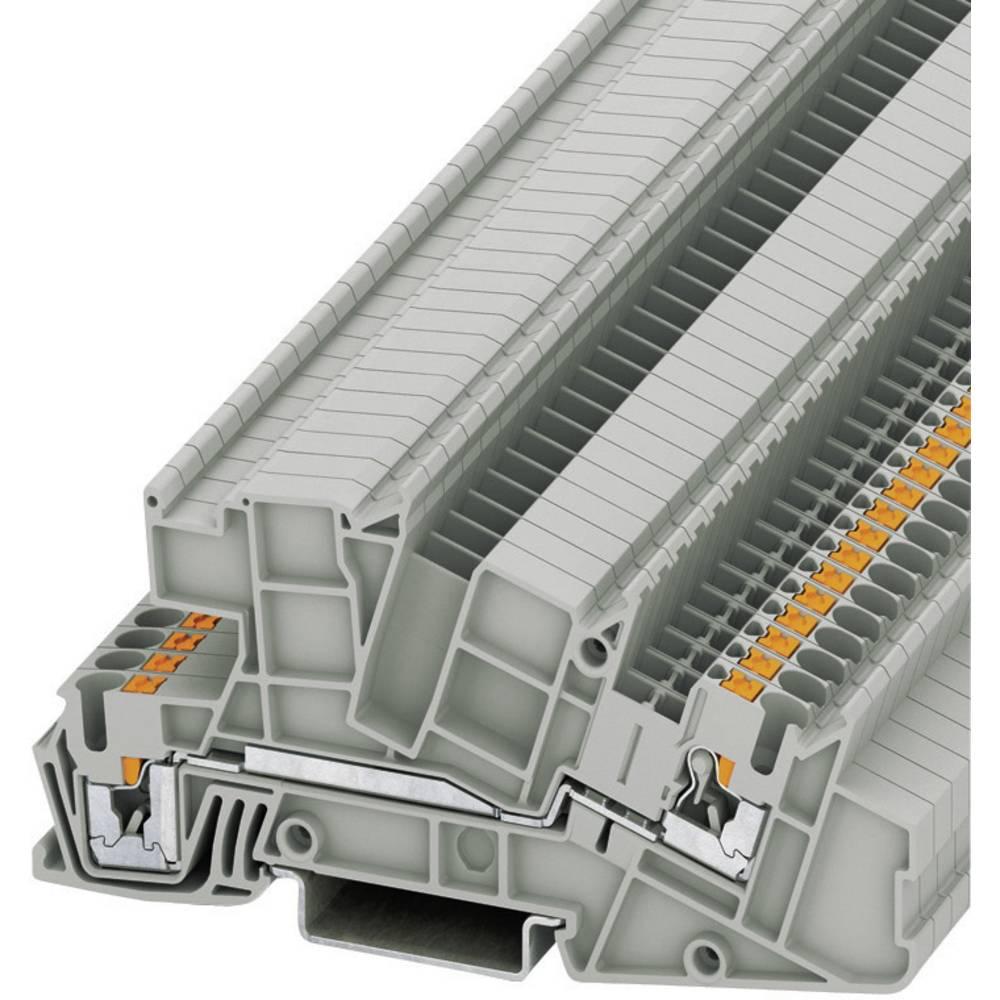 Push-i tre-niveau installation terminaler PTI Phoenix Contact PTI 2,5-L Grå 1 stk