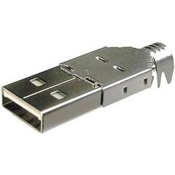 USB A BKL Electronic 10120098 USB 2.0 hanstik A 1 stk