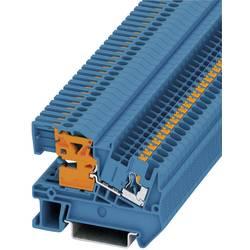 Push In N-rastavna stezaljka PTN PTN 2,5 Phoenix Contact plave boje, sadržaj: 1 kom.