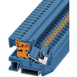 Push In N-rastavna stezaljka PTN PTN 6 Phoenix Contact plave boje, sadržaj: 1 kom.