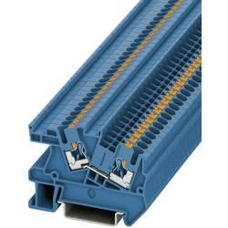 Push-In provodna instalacijska stezaljka PTI PTI 2,5 BU Phoenix Contact plave boje, sadržaj: 1 kom.