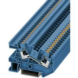 Push-In provodna instalacijska stezaljka PTI PTI 4 BU Phoenix Contact plave boje, sadržaj: 1 kom.