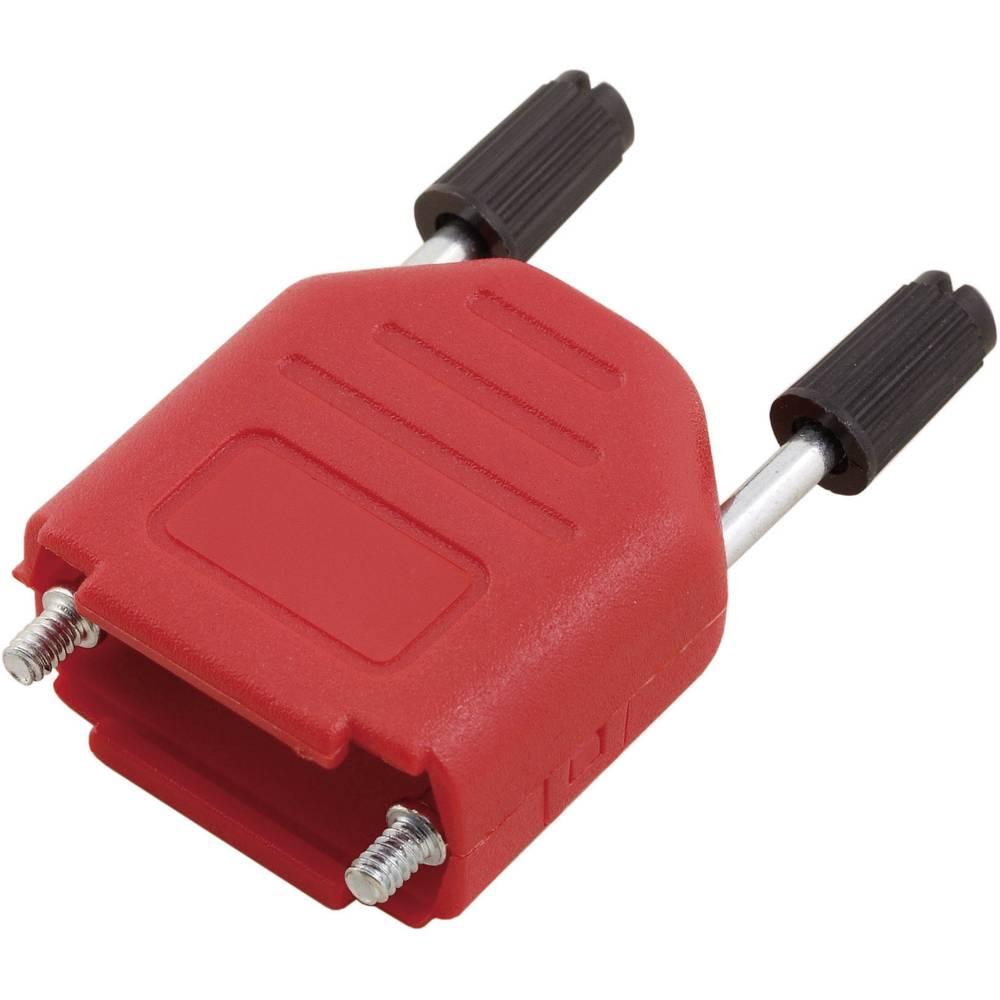 D-SUB pokrov iz umetne mase Encitech MHDPPK09-R-K, poli: 9,vsebina: 1 kos 6353-0103-01 MH Connectors